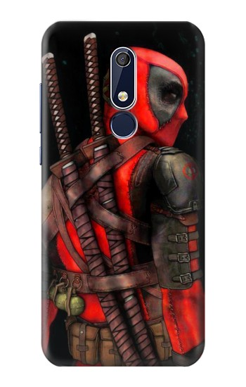 Printed Deadpool 2 Nokia 5.1 Case