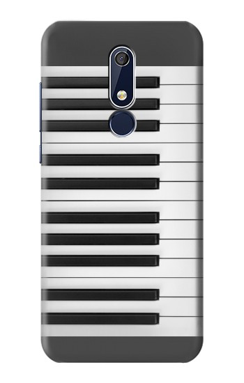 Printed One Octave Piano Nokia 5.1 Case