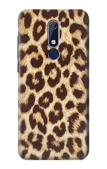 Printed Leopard Pattern Graphic Printed Nokia 5.1 Case