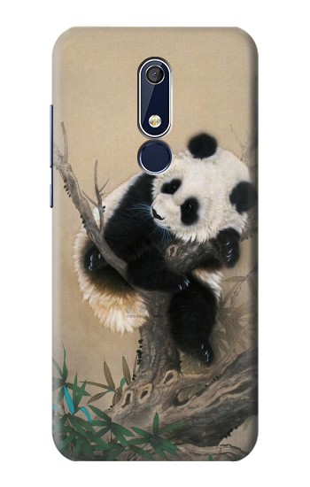 Printed Panda Fluffy Art Painting Nokia 5.1 Case