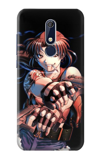 Printed Black Lagoon Revy Two Hands Nokia 5.1 Case
