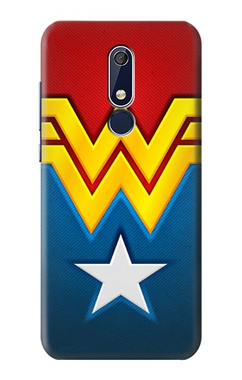 Printed Wonder Women Logo Nokia 5.1 Case