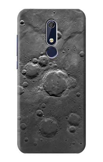 Printed Moon Surface Nokia 5.1 Case