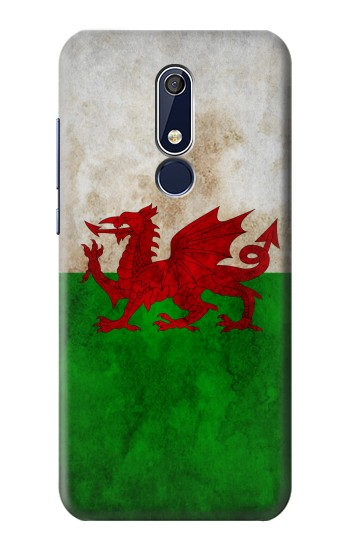 Printed Wales Red Dragon Flag Nokia 5.1 Case
