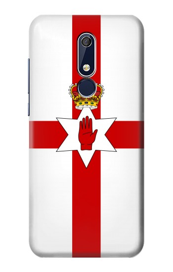 Printed Flag of Northern Ireland Nokia 5.1 Case