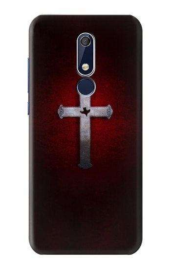 Printed Christian Cross Nokia 5.1 Case