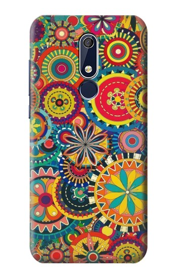 Printed Colorful Pattern Nokia 5.1 Case