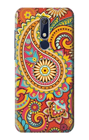 Printed Floral Paisley Pattern Seamless Nokia 5.1 Case