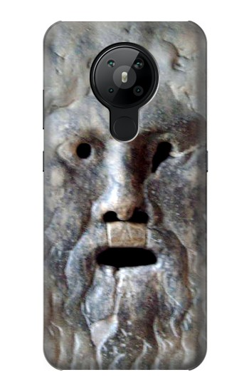 Printed Rome The Mouth of Truth Nokia 5.3 Case