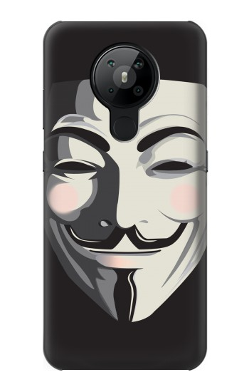 Printed Anonymous V Mask Guy Fawkes Nokia 5.3 Case