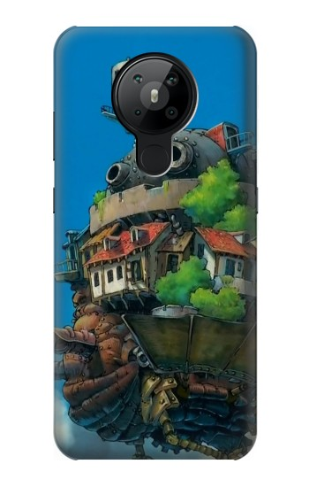 Printed Howl Moving Castle Hauru no Ugoku Shiro Nokia 5.3 Case
