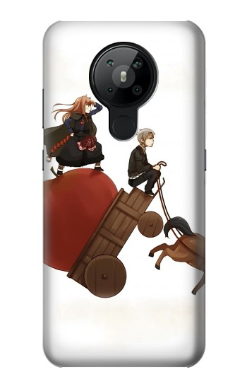 Printed Spice and Wolf Horo Lawrence Nokia 5.3 Case