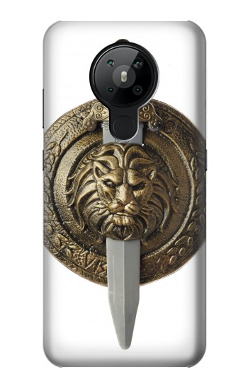 Printed Shield and Sword Nokia 5.3 Case