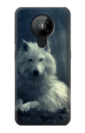 Printed White Wolf Nokia 5.3 Case