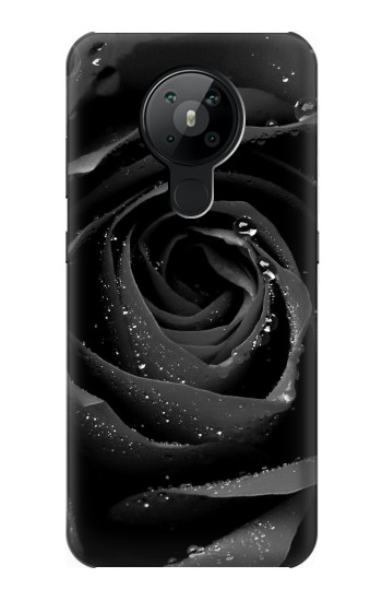 Printed Black Rose Nokia 5.3 Case