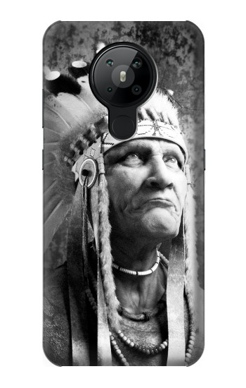 Printed Red Indian Nokia 5.3 Case