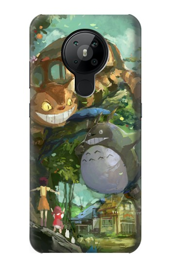 Printed My Neighbor Totoro Cat Bus Nokia 5.3 Case