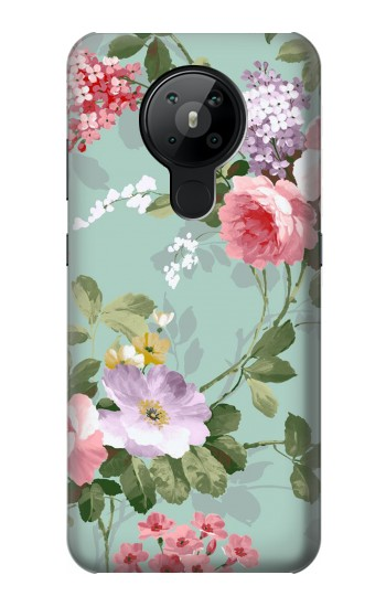 Printed Flower Floral Art Painting Nokia 5.3 Case