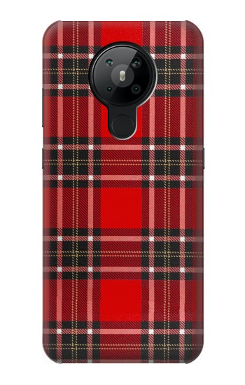 Printed Tartan Red Pattern Nokia 5.3 Case