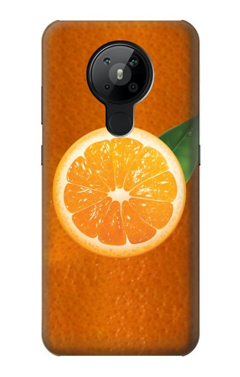 Printed Orange Fruit Nokia 5.3 Case