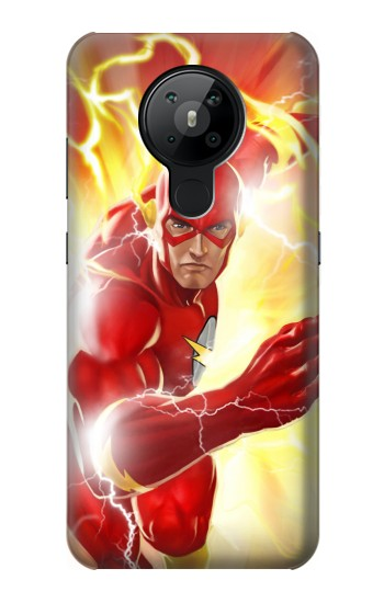 Printed Thunder Flash Superhero Nokia 5.3 Case