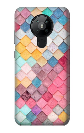 Printed Candy Minimal Pastel Colors Nokia 5.3 Case