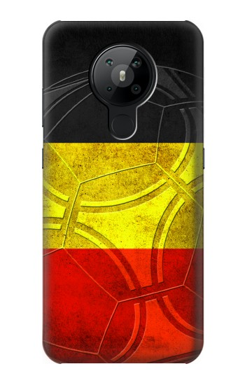 Printed Belgium Football Flag Nokia 5.3 Case