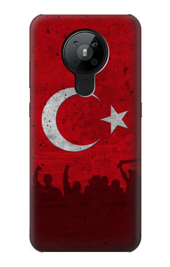 Printed Turkey Football Flag Nokia 5.3 Case