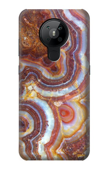 Printed Colored Marble Texture Printed Nokia 5.3 Case