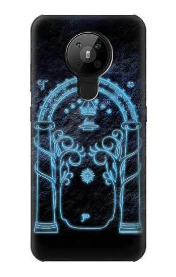 Printed Lord of The Rings Mines of Moria Gate Nokia 5.3 Case