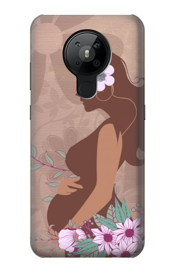 Printed Pregnant Mommy Baby Nokia 5.3 Case