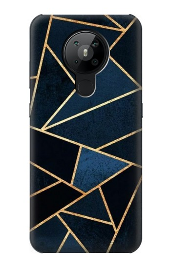 Printed Navy Blue Graphic Art Nokia 5.3 Case