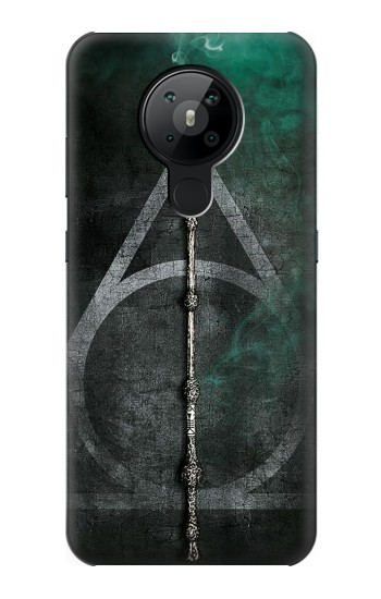 Printed Harry Potter Magic Wand Nokia 5.3 Case