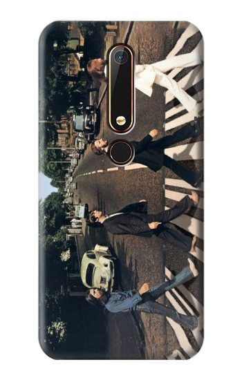 Printed The Beatles Abbey Road Nokia 6.1 Case