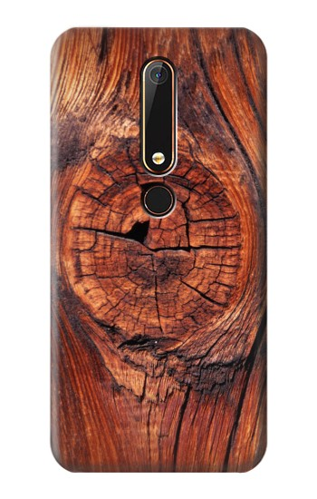 Printed Wood Nokia 6.1 Case