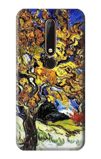 Printed Mulberry Tree Van Gogh Nokia 6.1 Case