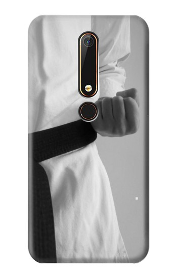 Printed Black Belt Karate Nokia 6.1 Case