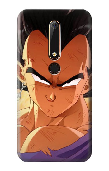 Printed Dragon Ball Z Vegeta Nokia 6.1 Case