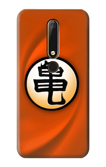 Printed Dragon Ball Son Goku Kame Turtle Uniform Nokia 6.1 Case