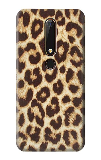 Printed Leopard Pattern Graphic Printed Nokia 6.1 Case