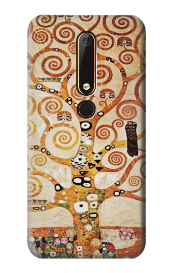 Printed The Tree of Life Gustav Klimt Nokia 6.1 Case