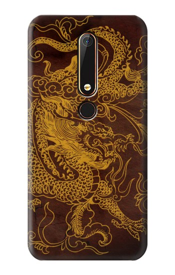 Printed Chinese Dragon Nokia 6.1 Case