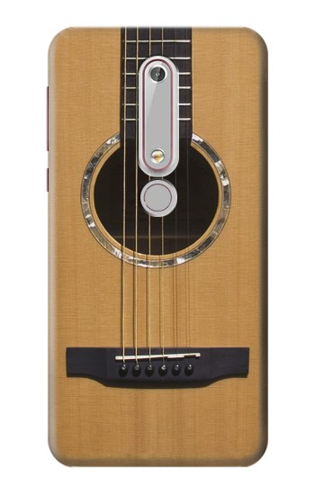 Printed Acoustic Guitar Nokia 6 (2018) Case