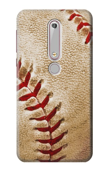 Printed Baseball Nokia 6 (2018) Case