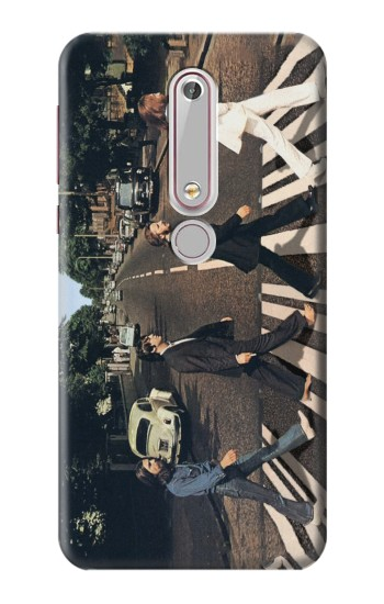 Printed The Beatles Abbey Road Nokia 6 (2018) Case