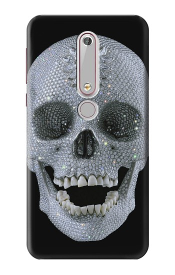 Printed Diamond Skull Nokia 6 (2018) Case