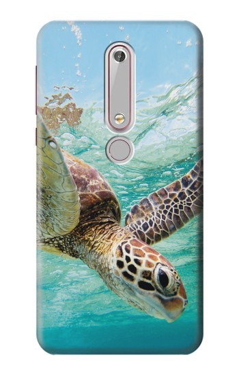 Printed Ocean Sea Turtle Nokia 6 (2018) Case
