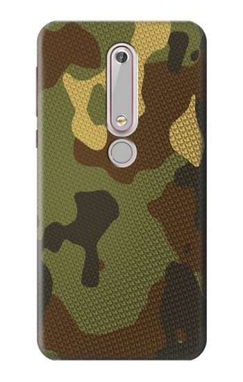 Printed Camo Camouflage Graphic Printed Nokia 6 (2018) Case