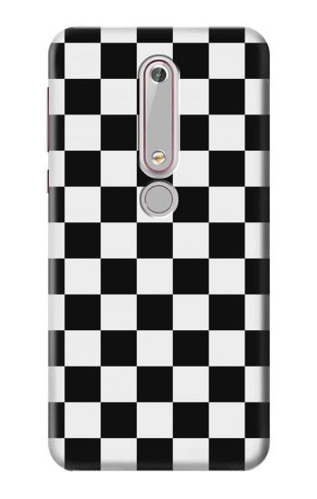 Printed Checkerboard Chess Board Nokia 6 (2018) Case