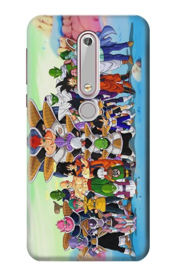 Printed Dragon Ball Z Nokia 6 (2018) Case